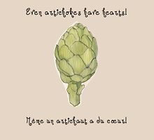 """""""Even artichokes have hearts"""" - Amélie Womens Fitted T-Shirt"""