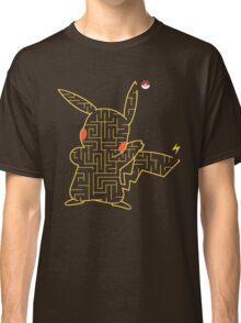 Pokemon Pikachu Maze Classic T-Shirt
