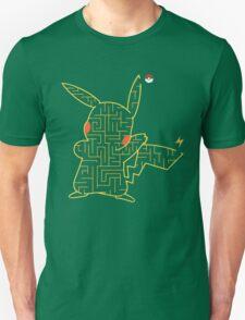 Pokemon Pikachu Maze T-Shirt