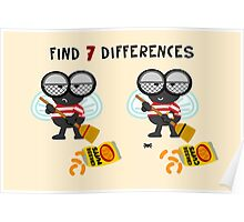 Find 7 Differences Poster