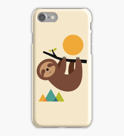 Keep Calm And Live Slow iPhone Case/Skin