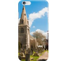 Building, Church, St Peter`s, North Rauceby, Linconshire iPhone Case/Skin
