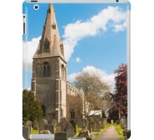 Building, Church, St Peter`s, North Rauceby, Linconshire iPad Case/Skin