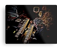 Night Keys Metal Print
