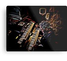 Night Keys Metal Print