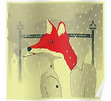 A Fox In London Poster