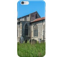 St Mary`s Church, Wiveton, North Norfolk, South Face iPhone Case/Skin