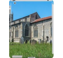 St Mary`s Church, Wiveton, North Norfolk, South Face iPad Case/Skin