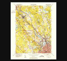 USGS TOPO Map Rhode Island RI Pawtucket 353440 1949 31680 Unisex T-Shirt