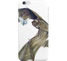 Savi's Pipistrelle - itty bitty bats flying around iPhone Case/Skin