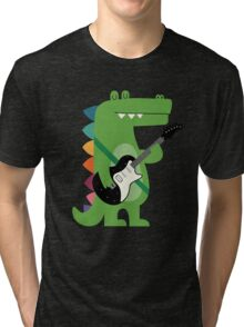 Croco Rock Tri-blend T-Shirt