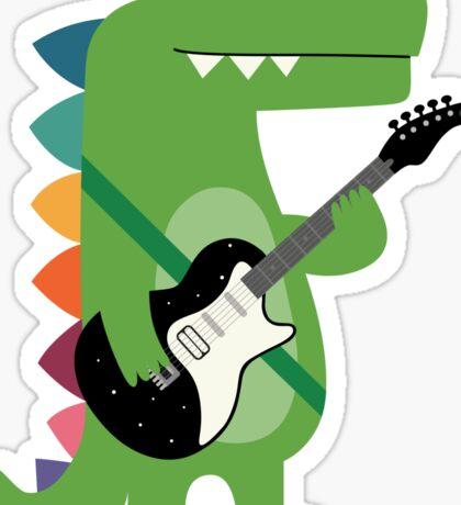 Croco Rock Sticker