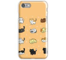 nekoatsume iPhone Case/Skin