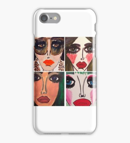 Fashion Doll Montage III iPhone Case/Skin