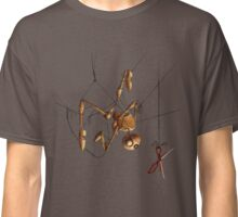 Staring Puppet at Scissors Classic T-Shirt