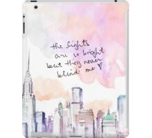 THEY NEVER BLIND ME iPad Case/Skin