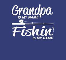 Fishing Grandpa Unisex T-Shirt