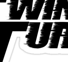 Twin Turbo Car Auto Stickers Sticker