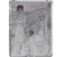 Wedding Sisters iPad Case/Skin