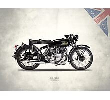 The Vincent HRD Rapide Photographic Print