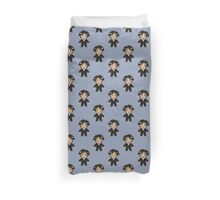 8-bit Groom Pattern Duvet Cover