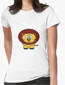 Baby Lion Womens Fitted T-Shirt