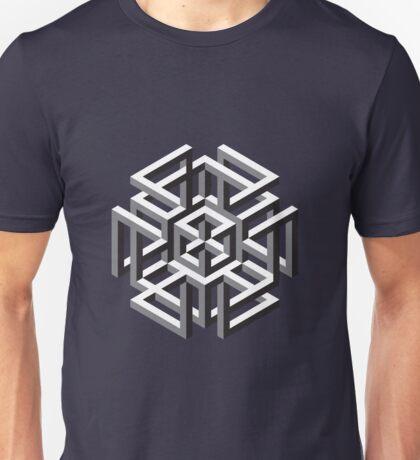 Geometric abstract figure pattern Unisex T-Shirt