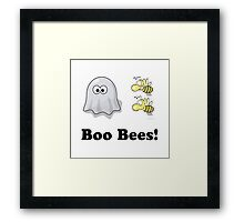 Boo Bees Framed Print