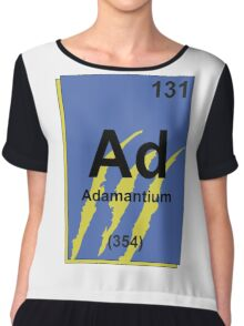 Adamantium Periodic Table - Wolverine Chiffon Top