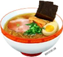 Tomodachi Life: Ramen noodles with seaweed and egg by dubukat