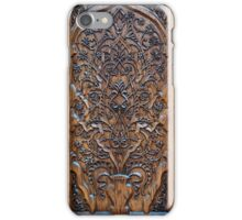 the carving iPhone Case/Skin