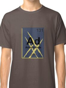 Adamantium Periodic Table - X23 Classic T-Shirt