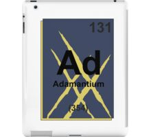 Adamantium Periodic Table - X23 iPad Case/Skin