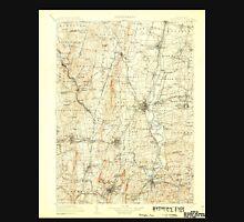 USGS TOPO Map Connecticut CT Farmington 331213 1906 125000 Unisex T-Shirt