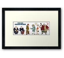 The Big Lebowski - Manga Framed Print
