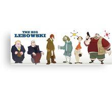 The Big Lebowski - Manga Canvas Print