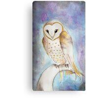 Momma Owl Canvas Print