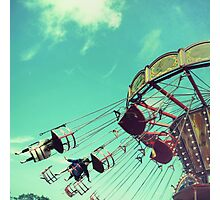 The Fun of the Fairground Photographic Print