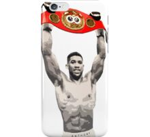Anthony Joshua IBF World Heavyweight Champion (belt) iPhone Case/Skin