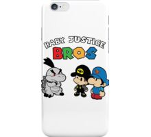 Baby Justice Bros. iPhone Case/Skin
