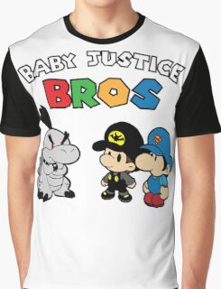 Baby Justice Bros. Graphic T-Shirt