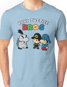 Baby Justice Bros. Unisex T-Shirt