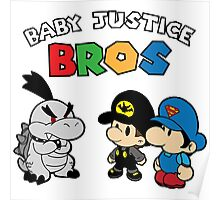 Baby Justice Bros. Poster