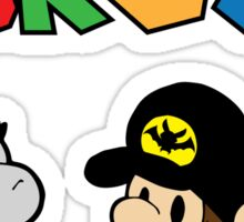 Baby Justice Bros. Sticker