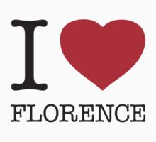 I ♥ FLORENCE One Piece - Long Sleeve