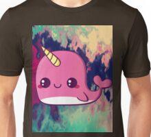 kawaii narwhale  Unisex T-Shirt