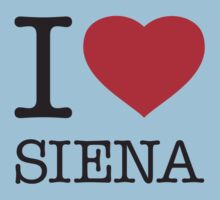 I ♥ SIENA One Piece - Short Sleeve