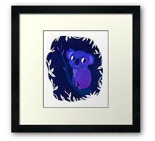 Space Koala Framed Print