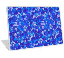 Abstract colorful hydrangea pattern Laptop Skin