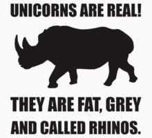 Unicorn Rhino Kids Tee